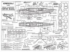 Curtiss Seagull model airplane plan