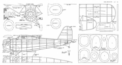 Curtiss XF13C-1 model airplane plan