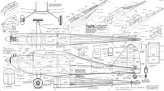 Custom Live Wire model airplane plan
