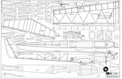 Cygnus-RCM-10-66 183 model airplane plan