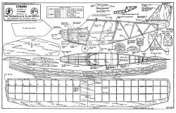 Cyrano model airplane plan