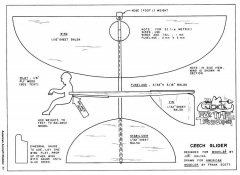 Czech Glider-AAM-06-74 model airplane plan