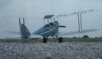 D.H. 60 Gipsy Moth model airplane plan