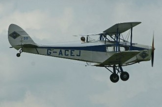 D.H 83 Fox Moth model airplane plan