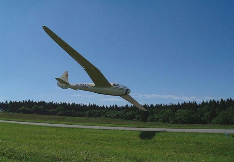 DSF Reiher III model airplane plan