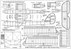 DH-10-FF model airplane plan