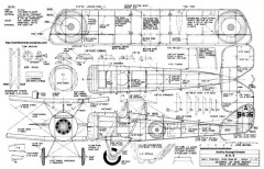 DH-5 26in Midkiff model airplane plan