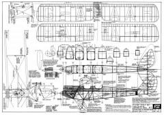 DH-60G Gipsy Moth model airplane plan