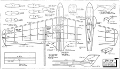 DH110 model airplane plan