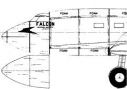 DH9FB15 model airplane plan