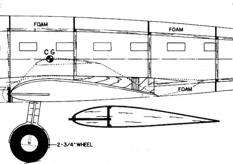 DH9FB58 model airplane plan