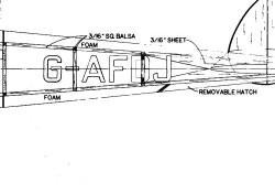 DH9FB8-E model airplane plan