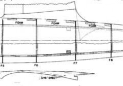 DH9FF58 model airplane plan