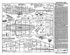DHVenom model airplane plan