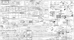 DH 89a model airplane plan