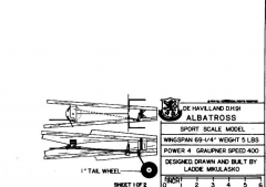 DN9TAIL model airplane plan