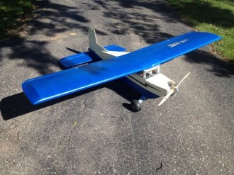 Livewire 80 model airplane plan