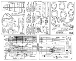 D 500 model airplane plan
