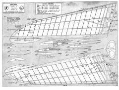Dactyl model airplane plan