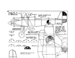 DallaireFokkerDXVII model airplane plan