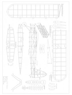 Dalliare Texaco 48in model airplane plan