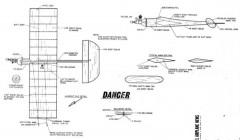Dancer model airplane plan