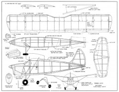 Danish KZ-3 model airplane plan