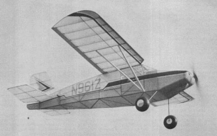 Daphne SD-1A model airplane plan