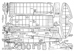 Daredevil 40 model airplane plan