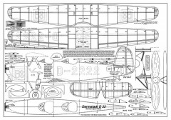 Darmstadt D-22 model airplane plan