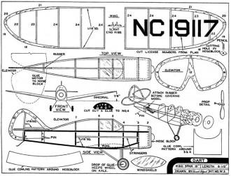 Dart model airplane plan