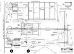 Dart Cart III-RCM-06-70 432 model airplane plan