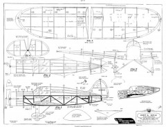 Dart G-207-4 Hi-Flyer model airplane plan