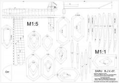 Daru BJV-07 model airplane plan