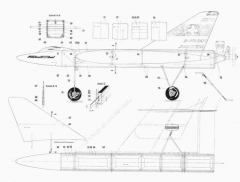 Das Fury Delta p1 model airplane plan