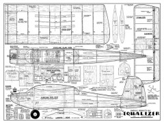 DeBolt Equalizer model airplane plan