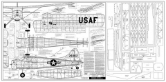 DeHavilland Beaver model airplane plan