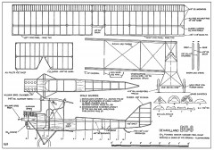 DeHavilland DH-6-WR Stroman model airplane plan
