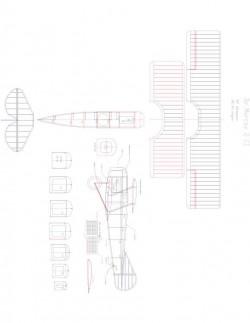DeMarcay 2Cl Model 1 model airplane plan