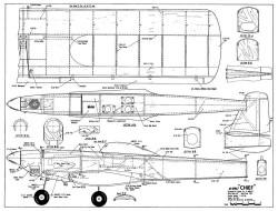 De bolt Chief model airplane plan