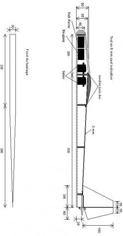 Debut p1 model airplane plan