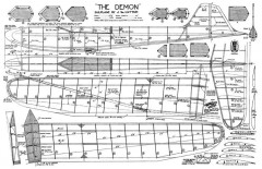 Demon 2 model airplane plan