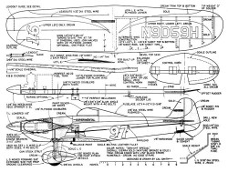 Denight Special 2 model airplane plan