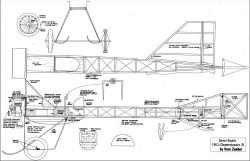 Deperdussin B 1911 model airplane plan