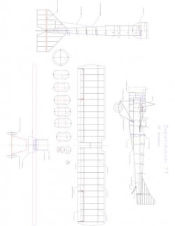 Deperdussin TT Model 1 model airplane plan