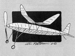 Diamond model airplane plan