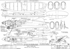 Diesel Demon II model airplane plan