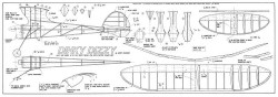Dinky Dizzy model airplane plan