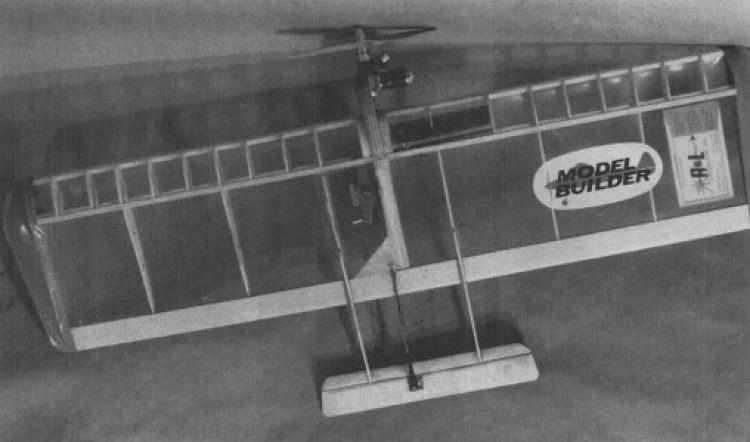 Dirty Beaver model airplane plan