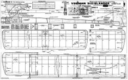 Dixielander model airplane plan